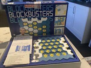 Vintage Waddingtons Blockbusters ITV Quiz Board Game 1986 Complete
