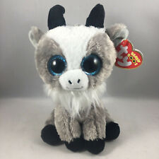 "TY Beanie Boos 6"" GABBY the Goat Plush Stuffed Animal Toy MWMTs Ty Heart Tags"