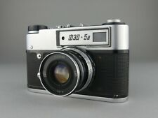 APPAREIL PHOTO FED RUSSIAN CAMERA URSS FED 5B - 2,8 / 5 LENS ARGENTIQUE CAMERA