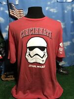 Cincinnati Reds Star Wars SGA red storm trooper T-shirt Shirt XL c2