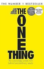 The One Thing: The Surprisingly Simple Truth Behind Extraordinary Results by Gary Keller (Paperback, 2014)