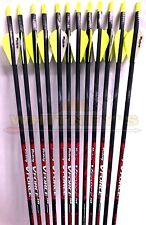 Victory Archery V-Force 500 Sport Arrows for Bow Hunting / Target - 12 Pack
