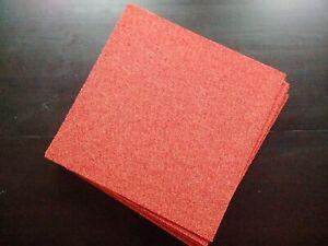 Neuf Interface 40 dalles moquette qualité pro rouge 10m² new carpet tiles