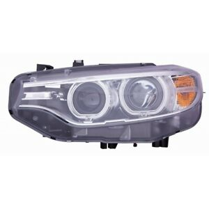 Driver Left LH Headlamp Assembly Xenon Type fits 2014 2016 BMW 435I Coupe