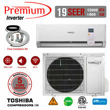 12000 BTU Air Conditioner Mini Split 19 SEER INVERTER AC Ductless Only Cold 220V