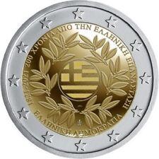 2 euro commemorative Grece 2021 200 ans de le Revolution Grecque PREVENTE