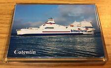 Brittany Ferries COTENTIN Large Fridge Magnet Car Ferry Ro-Ro Poole