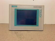 Siemens Simatic 6AV6 640-0CA11-0AX1 6AV6640-0CA11-0AX1 Touchpanel TP177 Micro
