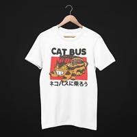 Cat Bus Unisex T-Shirt - Studio Ghibli (My Neighbor Totoro) - FREE UK DELIVERY