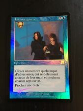 MTG ONSLAUGHT WHEEL AND DEAL (FRENCH LA ROUE TOURNE) NM FOIL