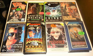 VHS Video Sci Fi Collection