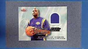 2000-01 Fleer Feel the Game SHAQUILLE O'NEAL Jersey Los Angeles Lakers ~JY10