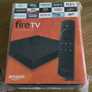 Amazon Fire TV 2 Generation Digital Media Streamer - Black