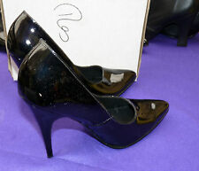 "patent 5"" heels LSB Uk 9 10 shoes TV Little Shoe Box crossdresser"