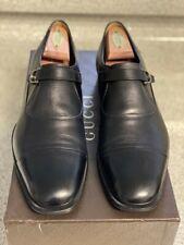 Gucci CIRANO Lux Stretch Leather Slip-On Cap Toe Stirrups - 9.5G = 10.5US