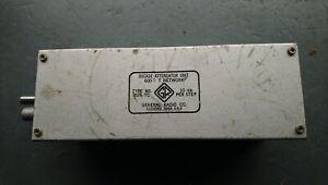 General Radio Decade Attenuator Unit  600 ohms T Network Type 829 - TC , 10 dB