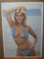 Vintage 1979 Samantha bikini original hot girl poster 13887