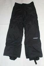 Spyder XT Boys Girls Kids Ski Snow Pants Black Fits 12 year old