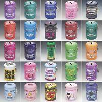 Novelty Gifts Fine & Fund Cash Money Saving Tins Piggy Bank Great Fun Gifts