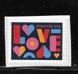HICK GIRL- MNH. U.S. STAMP     2021  FOREVER    LOVE       B1168