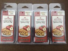 Heavily Scented Red Shed-Clamshell Wax Melts Tarts - APPLE PIE-10 Cube Pack