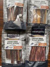 "5ct 6 Inch Dentleys Bully Sticks Grain Gluten """" Exp 2023"