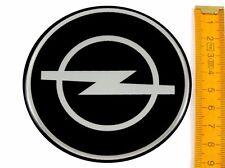 OPEL ★ 4 Stück ★ SILIKON Ø90mm Aufkleber Emblem Felgenaufkleber Radkappen