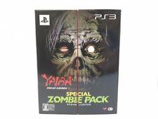 Playstation 3 PS3 YAIBA NINJA GAIDEN Z Special NINJA Pack w/figure Japan z3557