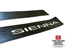NEW OEM TOYOTA SIENNA 2011-2020 DOOR SILL PROTECTORS 2-PIECE SET