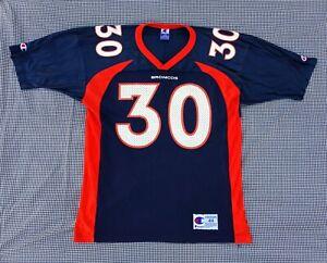 Vintage 90s Champion Denver Broncos Terrell Davis On Field Replica Jersey 44/L