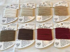 Rainbow Gallery Very Velvet PETITE  Needlepoint Embroidery Thread