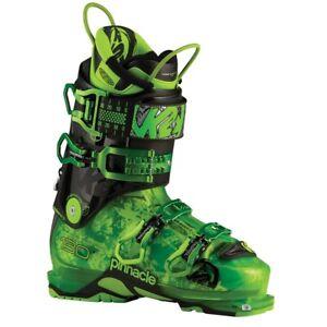 2016 K2 Pinnacle 130 Green Mens 26.5 Ski Boots