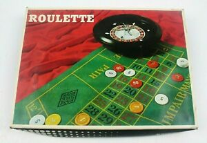 Roulette Set Includes Roulette Wheel Spinning Action Ring Felt Made in Taiwan