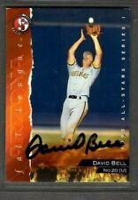 1995 Split Second #20 David Bell Peoria Javelinas Card Signed Autograph (E36)