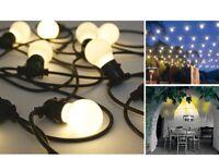 Seletti BELLA VISTA cavo set 10 luci a led da giardino filo esterno mt 14.2