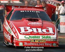 KENNY BERNSTEIN 1989 BUDWEISER KING BUICK NHRA FUNNY CAR 8X10 PHOTO READING PA