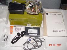 Motorola Bluetooth  Hands Free  Car-Kit BTHCK100 SYN8883C with SMN4103B MIC NEW