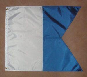 NEW Large Scuba Dive Boat Flag (alpha flag) 720X600mm