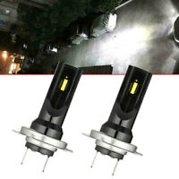 2x CREE H7 LED Car Headlight Fog Light Bulb Conversion Kit High Power 6000K 60W
