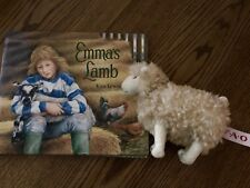 Lovely Hard Covered Story Book & F.A.O. Stuffed Lamb