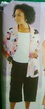 Plus Size Pattern Womens Dress Top Pants Skirt Butterick 3039 Sz 28W 30W 32W NEW