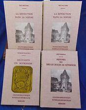 Grande Bibliothèque Nivernais Bourgogne :  Meunier :La révolution dans la Nièvre