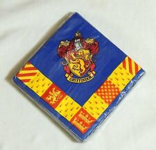 HARRY POTTER MOVIE-   16- PAPER DESSERT NAPKINS     PARTY SUPPLIES