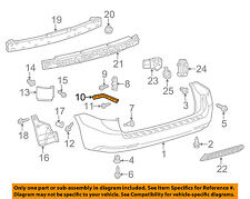 TOYOTA OEM 11-16 Sienna Rear Bumper-Side Retainer Bracket Right 5257508010