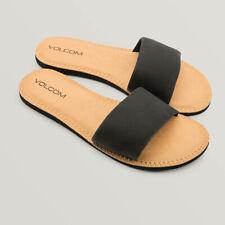 Volcom Simple Slide Damen Sandalen schwarz