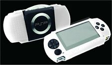 PSP : Exspect White Silicone Graphic Skin with Screen Protector EX923 - NEW