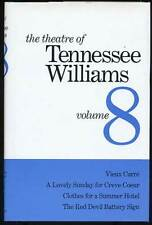 Theatre of Tennessee Williams Volume VIII Vieux Carre Lovely Sunday 1st ed 1981