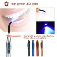 Wireless Cordless LED Dental Curing Light Lamp Oral Care Health Rechargeable lj