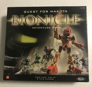 BIONICLE: QUEST FOR MAKUTA - Adventure Game ~ Lego (2001)