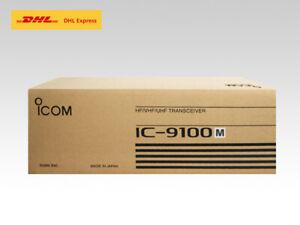 ICOM IC-9100M HF 50MHz SSB/CW/RTTY/AM/FM/DV 50W Transceiver DHL Fast Shipping